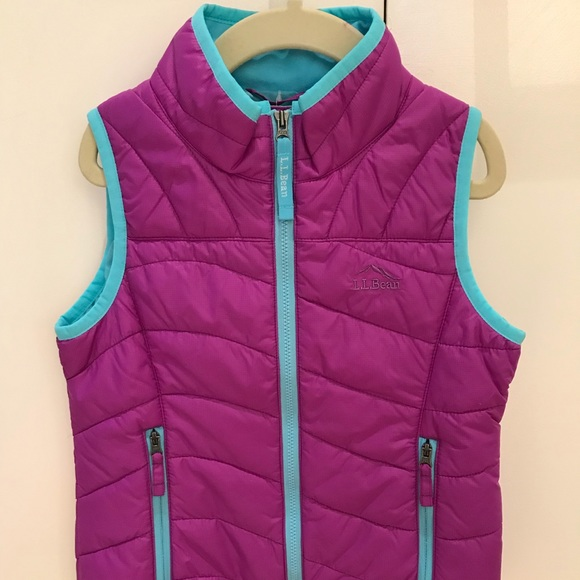 L.L. Bean Other - L.L.Bean Girls' Puff-n-Stuff Vest